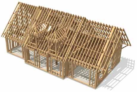 Acheter une maison ossature bois la relance de la construction se fait enf - Se pacser pour acheter une maison ...